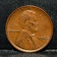 1922-D LINCOLN WHEAT CENT  AU ALMOST UNC  1C ALMOST UNCIRCULATED K81 TRUSTED