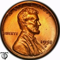 1952 D   LINCOLN WHEAT CENT    UNC, TONED 1.152