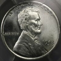 1943 S LINCOLN CENT  FS 101 019.5  PCGS MS67 PRICED @ $1500 DDO 001 VERY