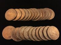 1999 ROLL OF 25 COINS SUSAN B. ANTHONY UN CIRCULATED DOLLARS