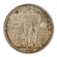 1920-S 25C STANDING LIBERTY QUARTER PCGS MINT STATE 64FH