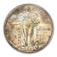 1924-S 25C STANDING LIBERTY QUARTER PCGS MINT STATE 66 CAC