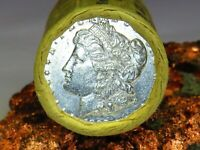 1893 NICE END / S TONING END MORGAN DOLLAR ROLL$20 MM698