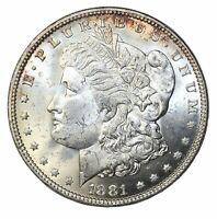 1881 MORGAN SILVER DOLLAR COIN PHILADELPHIA MINT