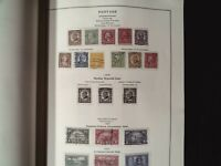 LARGE US SCOTT NATIONAL ALBUM. 230 PAGES OF STAMPS. PAGES TO