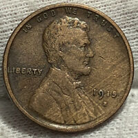 1914-S LINCOLN WHEAT CENT PENNY SOME WOODY DECENT STARTER
