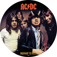 COOK ISLANDS 2018 $2 ACDC   HIGHWAY TO HELL 1/2 OZ PROOF SIL