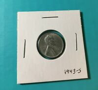 1943-S  LINCOLN STEEL PENNY  COIN SHIPS FREE