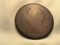 1796  DRAPED BUST LARGE CENT. S-92, R3  REVERSE OF 1795