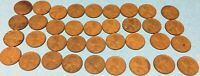 1941 LINCOLN WHEAT CENT LOT OF 36 1941 P WHEAT CENT ROLL WHEAT PENNIES