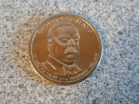 2012-P 22ND GROVER CLEVELAND PRESIDENTIAL U.S. ONE DOLLAR COIN