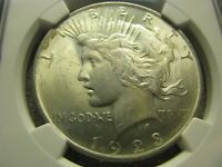 MINT STATE 64 1923 PEACE SILVER DOLLAR - GRADED NGC