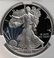 2016-W AMERICAN SILVER EAGLE LETTERED EDGE NGC PF70 ULTRA CAMEO30TH ANNIVERSARY