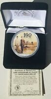 2003 AMERICAN SILVER EAGLE THE MORGAN MINT 100 YEARS OF FLIGHT SILVER EAGLE
