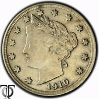 1910 5 C LIBERTY HEAD FIVE CENTS   X.035