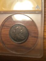 ANACS XF45 1804 HALF CENT C 10 CROSS 4 WITH STEMS SUPER NICE PERFECTLY ORIGINAL