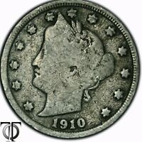 1910 LIBERTY HEAD FIVE CENTS 2.166