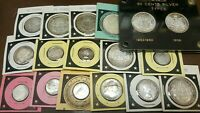 CANADA SILVER COINS COLLECTION     DIMES QUARTERS HALF DOLLA