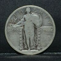1920-P STANDING LIBERTY QUARTER  G GOOD  25C SILVER  NOW TRUSTED