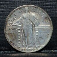 1920-P STANDING LIBERTY QUARTER  EXTRA FINE  DETAILS  25C SILVER  NOW TRUSTED