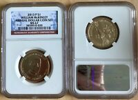 2013 P PRESIDENT WILLIAM MCKINLEY $1 NGC MINT STATE 67 ANNUAL DOLLAR COIN SET