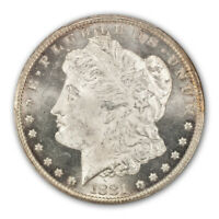 1881-CC $1 MORGAN DOLLAR PCGS MINT STATE 65 CAC
