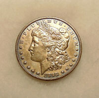 1898-P MORGAN SILVER DOLLAR - BETTER DATE - SHARP LOOKING COIN - SHIPS FREE