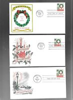 US FDC FIRST DAY COVERS  1205 US 1ST CHRISTMAS STAMP 1962 LO