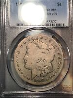 PCGS GOOD DETAILS DAMAGE 1893 S MORGAN DOLLAR THE KEY