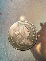 1798 DRAPED BUST DOLLAR FINE DETAILS GRAFFITI PERFECT TYPE COIN