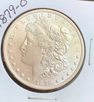 1879-O MORGAN SILVER DOLLAR, BU