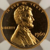 1960 LINCOLN CENT PROOF LARGE DATE  NGC PF67RD  GEM