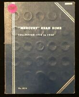 INCOMPLETE BOOK OF MERCURY DIMES 1916 1945