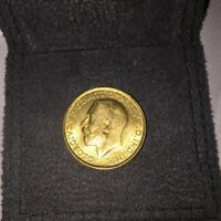 1911 GOLD COIN FULL SOVEREIGN COIN GEORGE V GREAT BRITAIN NI