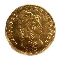 1803/2 CAPPED BUST GOLD HALF EAGLE $5   NCS NCG AU DETAILS   MONSTER  COIN