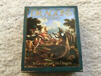 2012 TUVALU DRAGONS OF LEGEND   ST GEORGE AND THE DRAGON 1 OZ SILVER PROOF COIN