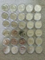 30X 1 OZ SILVER VARIOUS RCM CANADA GRIZZLY WOLF COUGAR MOOSE BISON ANTELOPE