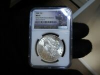 MORGAN SILVER DOLLAR1888-P NGC MINT STATE 63 HENRY LEGACY GREAT NORTHWEST COLLECTION.