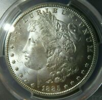 1885 CC PCGS MINT STATE 64 MORGAN DOLLAR BLAST WHITE CARSON CITY IN GREAT CONDITION PLUS
