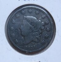 1831 U.S. LARGE CENT-LARGE LETTERS-STAMPED ON BOTH SIDES