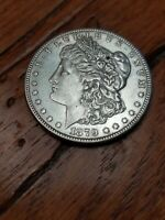 1879 S MORGAN SILVER DOLLAR REVERSE OF 78