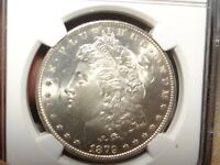 1879-S  MORGAN SILVER DOLLARMINT STATE 65NGC STUNNING CHEEK GEMSTK 3419