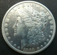 1896-O $1 US MINT SILVER 90 MORGAN DOLLAR US COIN V1057