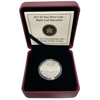 2013 ROYAL CANADIAN MINT SILVER MAPLE LEAF .9999 WITH COA PR