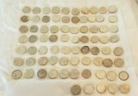 SILVER DOLLAR COIN LOT 75 COINS 1879 TO 1925