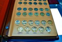 COMPLETE SET OF JEFFERSON NICKEL'S 1938 TO 2000   140 COINS