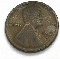 1912-S LINCOLN CENT - KEY DATE