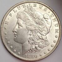 1880-O VAM-53A - DOUBLED 880 & LOWER REV, DIE SCRATCHES RT WREATH & WING -