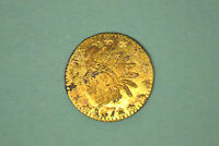 1876 CALIFORNIA $1/4 GOLD  CHOICE DETAILS  BG 853.  FROM MY