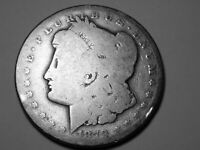 1879CC MORGAN SILVER DOLLAR  YOU JUDGE   BETTER DATE 2507